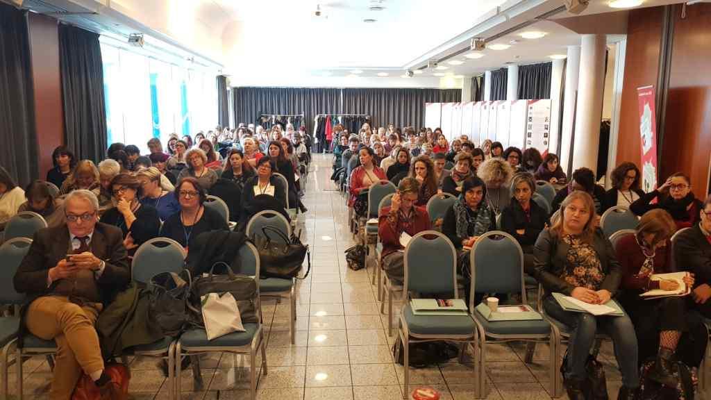 Pinzuti e la platea di Rimini